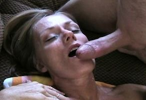 Stellar Cougar Point of view deep throat