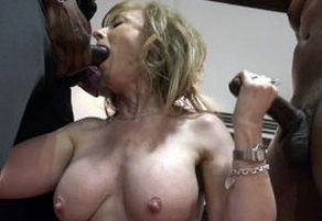 Nina Hartley office orgy