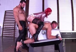 Tormentor and domme in hip high..