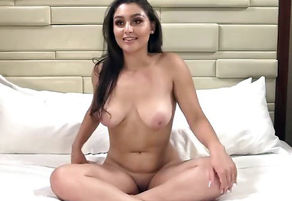 Scorching Danish-Arab Nymph Maya