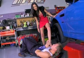 Black-haired porn industry star sole..