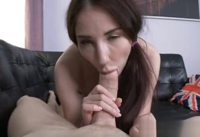 Damsel dark-haired very first anal..
