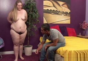 Hook-up with obese on web cam