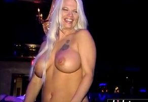 Strippers having joy in the club