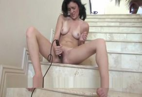 Brianne hilarious black-haired wanking..